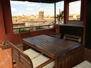 Ultimate Roman Panoramic Penthouse in center