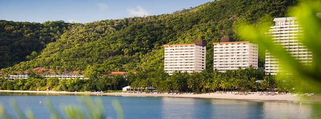 The  apartment is located within Whitsundays Apartments, situated on popular Catseye Beach (beach