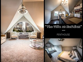 The Villa on Meridian-Penthouse ***3rd night free non premium dates***, Indianápolis
