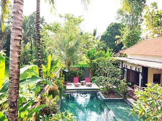 YanWik 2BR Villa~Private Pool~5mnt Ubud Center