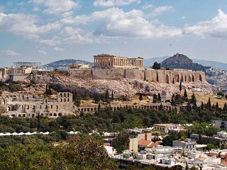 Luxus apartment in Athens with stunning Acropolis view