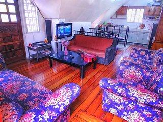 Baguio House - 2 rooms & an Attic Room