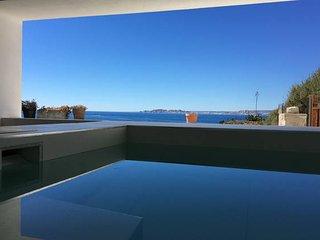 Villa de rêve avec piscine chauffée en bord de mer