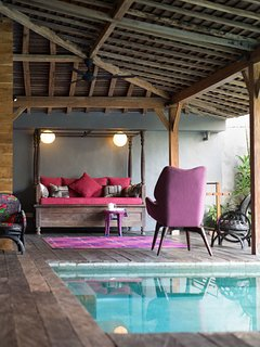 Wooden Villa Living Area