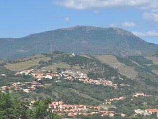 Villa 3ch, 2 SdB terrasses vue panoramique montagne, proche plage & site plongée, Banyuls-sur-mer