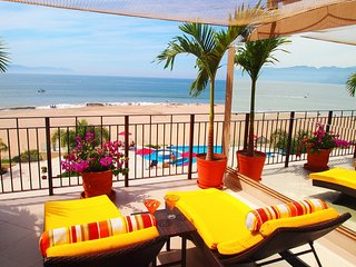 1 bedroom Large Terrace with Bay and Mountain Views, Puerto Vallarta