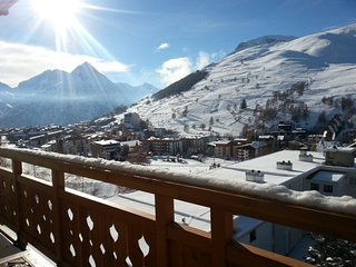 Apartment - 10 m from the slopes, Les 2 Alpes