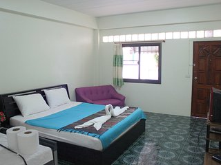 Apartment 200 mb wi-fi near Beach 1fl A, Lamai Beach