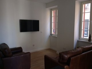 Beautiful new, two bedroom, two bathroom apartment with two balconies, in town., Westside