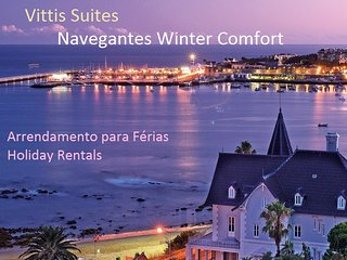 VITTIS SUITES: in the historic center of Cascais