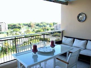 Vue mer - Large terrasse/Piscine - Golf Old Course, Mandelieu-la-Napoule