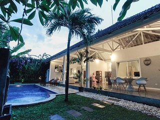 Relaxing Lush Green 2 Bed Room Villa with Pool in Seminyak