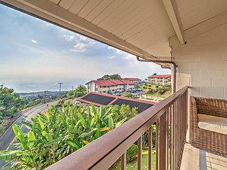 NEW! Wonderful 2BR Holualoa Condo w/Ocean View!