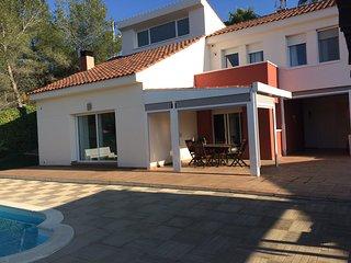 casa con piscina cerca de sitges, Olivella