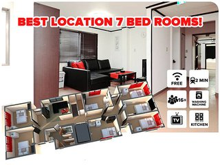 SKU #5 7 Bedroom Master Suite Apartment