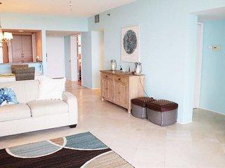 Living room, hallway.