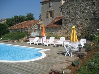 House with private pool, Lherm