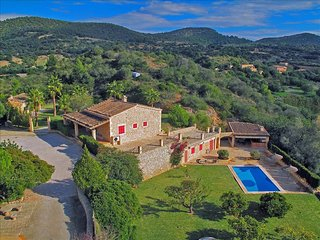 Son Amengual - Rustic finca with a fantastic garden, Son Macia