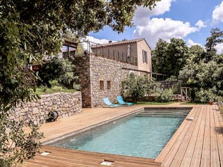 Corconne French holiday rental South France with pool (sleeps 6)