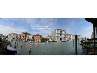 ROMY - Grand Canal overlooking, adjacent Peggy Guggenheim Collection, Internet