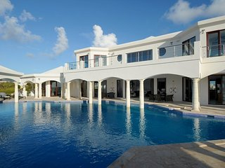 Luxury signature 15,500 sq ft villa, with amazing pool, Anguilla