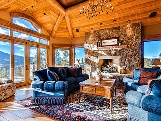 Stunning Custom Home with Incredible Views and On Call Winter Shuttle!