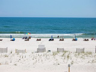 Driftwood Towers D2: 2br/2ba Gulf Front condo in Gulf Shores, Sleeps 6