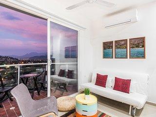 Terrazas Tayrona - Apartamento con Terraza en El Rodadero 4 personas -  by CHD