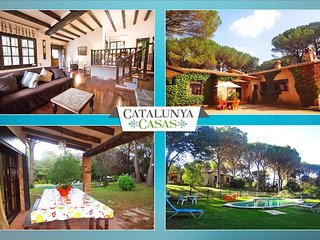 Charming 5-bedroom villa in Santa Cristina d'Aro, just 5 min by car to the beach