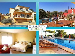 Coastal villa in Castellet, 6km from Costa Dorada beaches