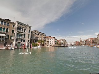 GRITTI: 6 WINDOWS! GRAND CANAL PANORAMA VIEW, Aircond Wifi