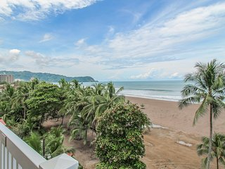 Oceanfront condo w/shared pool access, beach access, and a spacious balcony!