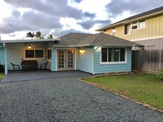 Sunset Hale,  Unit B1 Ocean front Sunset Beach, Haleiwa