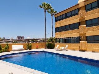 Beach front apartment in Playa de Las Burras CN