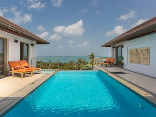 Villa Ganesh - Stunning 3 Bedroom Sea View Villa, Choeng Mon