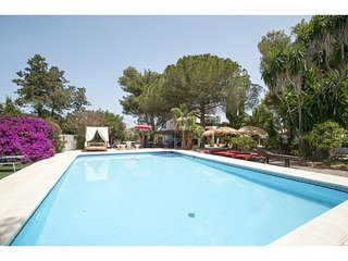 Casa Arcadia (house+3appartments)/garden/swim.pool, Santa Eulalia del Rio