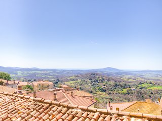 ♥Panoramic apartment♥Countryside at5min from Terme Saturnia 3+2 WiFi Airco SPA, Montemerano