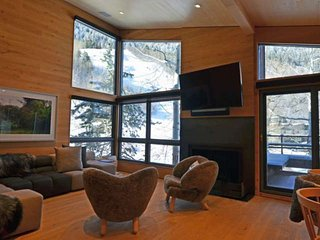 Luxury ski-in/out Aspen Mountain 4 blocks to shops and restaurants.  Newly renovated decor.