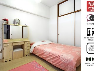 Namba 3RM Apartment for 8ppl, close to station #1