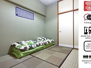 Namba 3RM Apartment for 8ppl, close to station #2