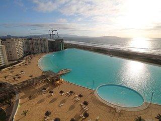 Condominio exclusivo con maravillosa laguna artificial y playa en La Serena