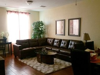 Enjoy this spacious and fully equipped Orlando vacation townhome that is