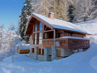 Polman Mansion, 8p ski chalet with sauna, Vallandry