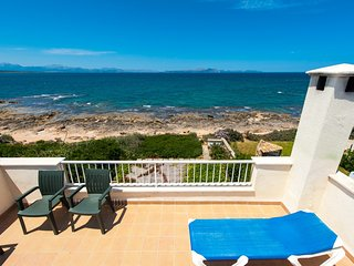Villa Sestanyol in Colonia Sant Pere with sea view