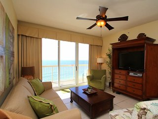 Get FREE Beach Chair Service and Private Owner`s Parking with this 3 bedroom beachfront located on the 9th floor at Calypso Resort!, Panama City Beach
