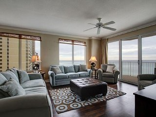Enjoy FREE BEACH CHAIR SERVICE with rental of our beautiful 6th floor 3 Bedroom at Grandview, Panama City Beach