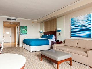Bay View Junior Studio Suite at Trump Hotel Beach Resort!