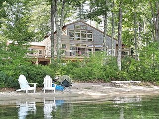 Post and Beam Waterfront Lake Waukewan (JON46Wf)