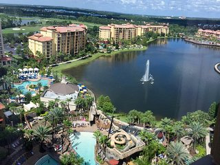 Wyndham Bonnet Creek by Disney, Orlando, 2BR DLX, Resort style with waterpark!, Celebration
