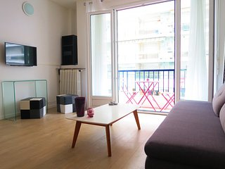 Ashley&Parker - MOZART - 1bedroom apartment in the Musician area with balcony, Nice